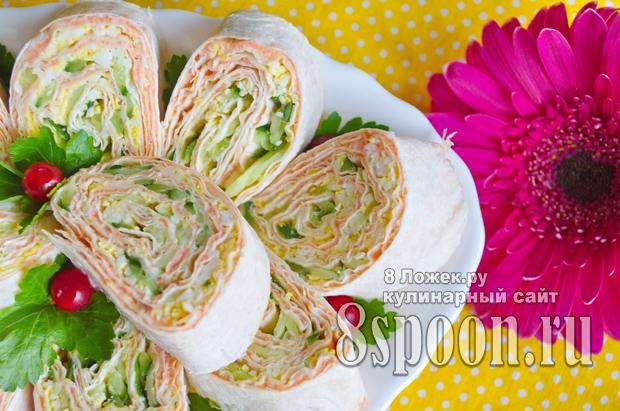 Сочная начинка с сардиной, зеленым луком и сыром